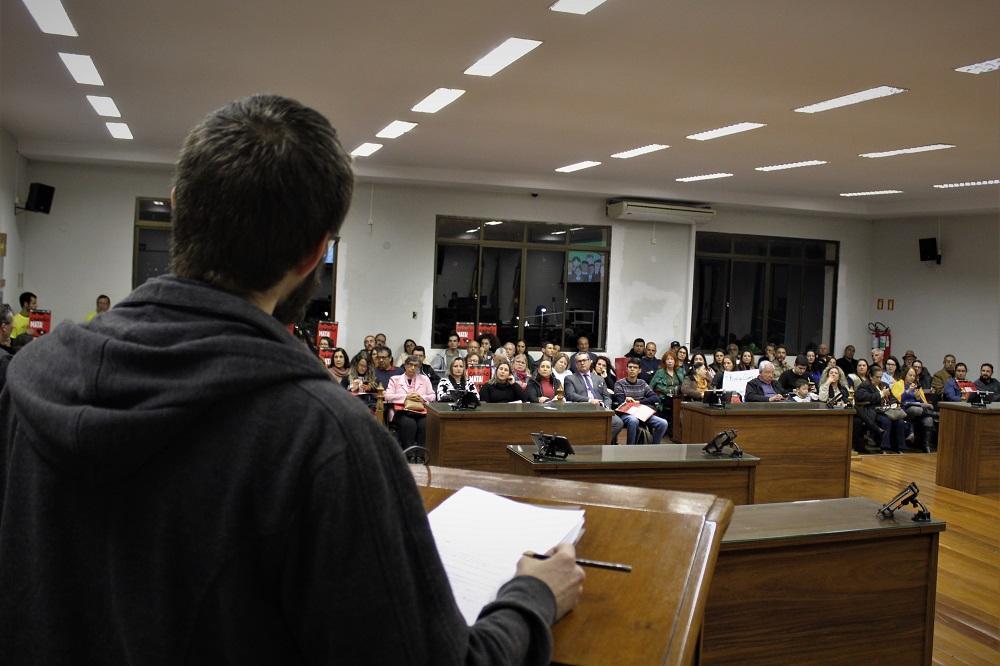 Ausência da construtora gera desconforto na audiência pública do Projeto Mina Guaíba