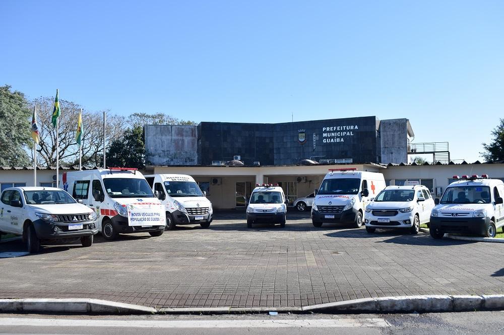 Prefeitura adquire sete novos veículos para saúde; quatro são ambulâncias