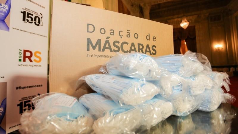 CMPC faz doação de um milhão de máscaras ao estado do Rio Grande do Sul