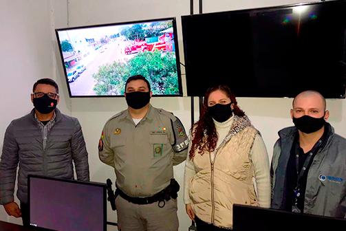 Eldorado do Sul passa a contar com sistema de videomonitoramento 24 horas