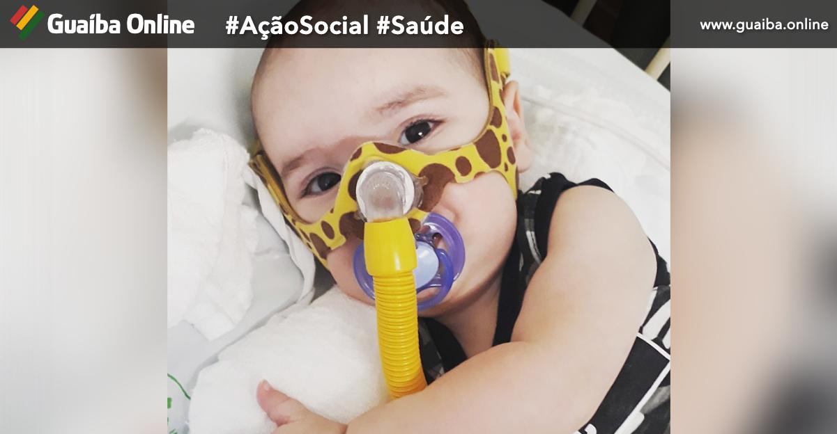 Guaíba Online lança campanha para ajudar Enzo Gabriel; portador da doença AME precisa do medicamento mais caro do mundo