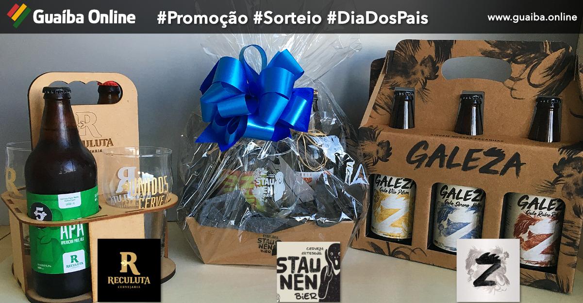 Promoção de Dia dos Pais: participe já e concorra a 3 belos kits de cervejas especiais para presentear seu pai