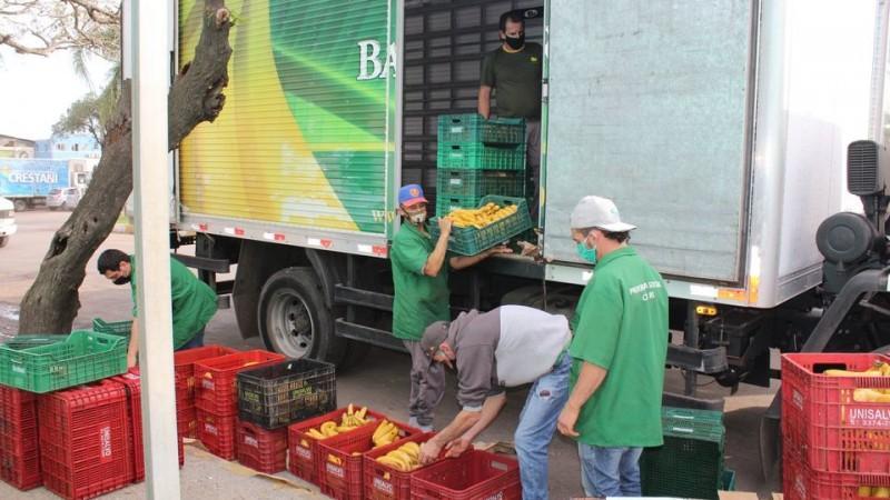 Banco de Alimentos da Ceasa registra recorde mensal de doações