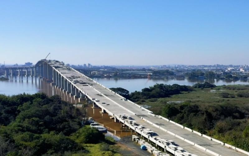 Dnit diz que vai abrir nova ponte do Guaíba para tráfego de veículos no início de novembro