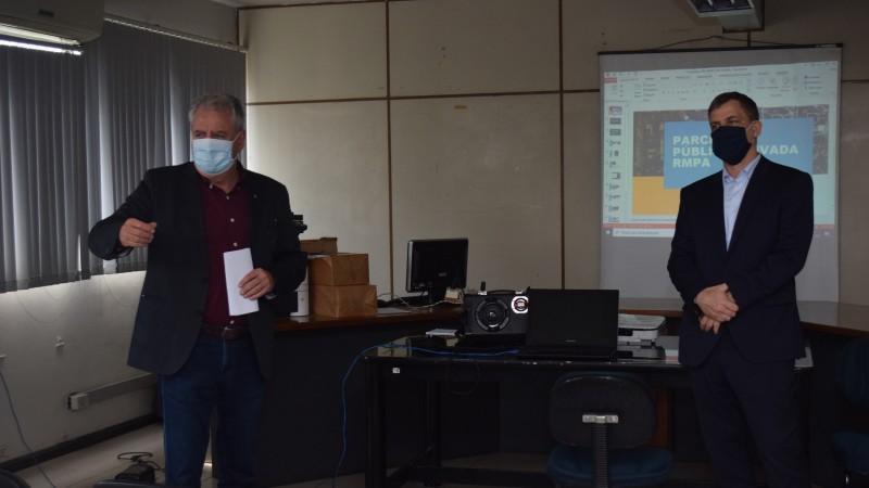 Empresa parceira na PPP do Saneamento é apresentada a prefeitos de Guaíba e Eldorado do Sul