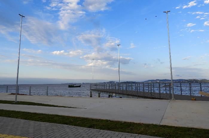 Obras de requalificação urbana nas orlas da Alegria e Alvorada chegam à reta final em Guaíba