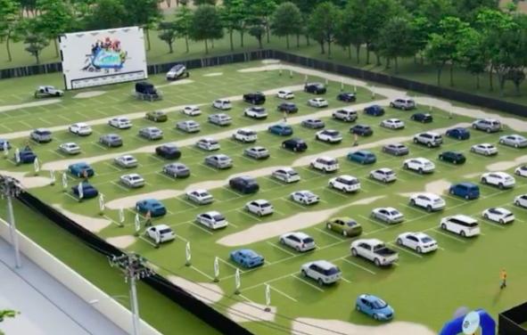 Portal Guaíba Online sorteia entrada de dois carros para o Cine Car, o cinema drive-in que acontece na Ulbra; participe