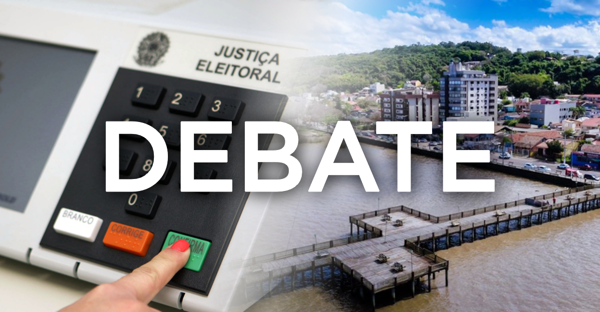 Assista ao debate completo com os vídeos de seis candidatos a prefeito(a) de Guaíba