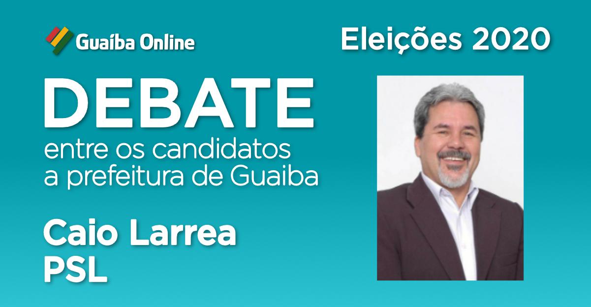 Assista às respostas de Caio Larrea no Debate do Guaíba Online com os candidatos a prefeitura de Guaíba