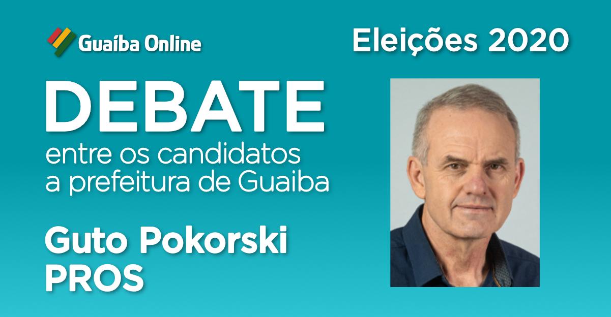 Assista às respostas de Guto Pokorski no Debate do Guaíba Online com os candidatos a prefeitura de Guaíba