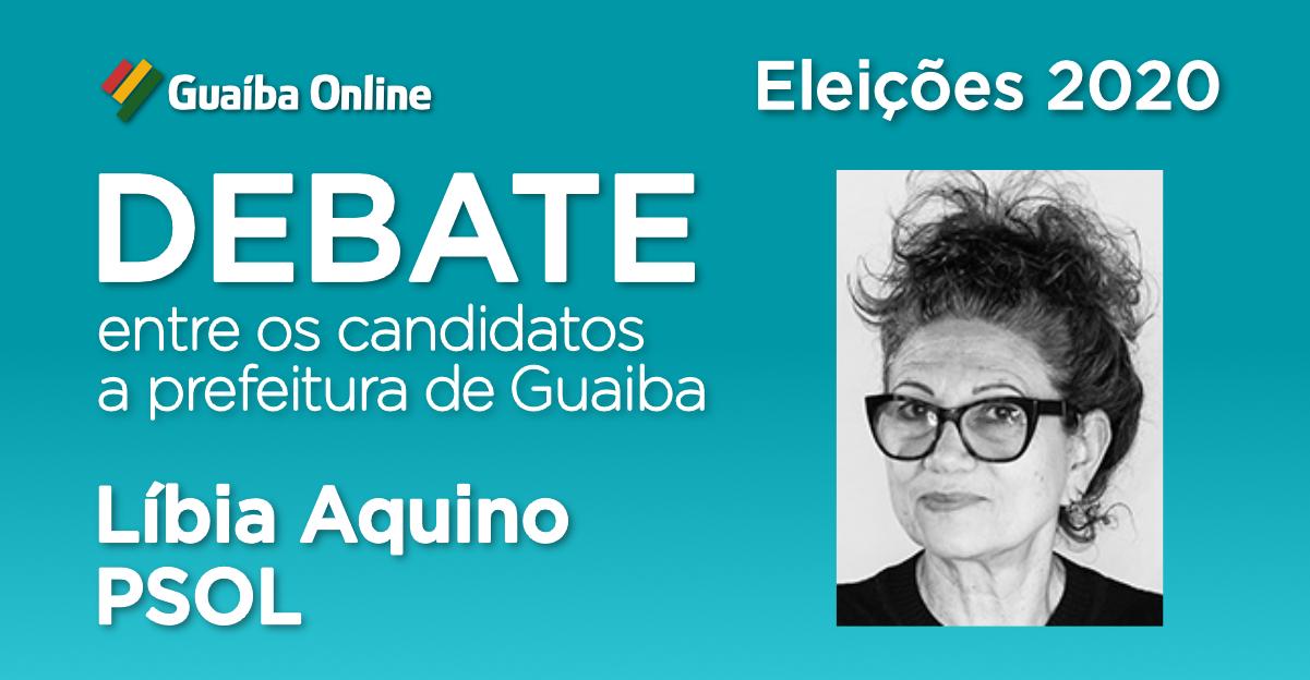 Assista às respostas de Líbia Aquino no Debate do Guaíba Online com os candidatos a prefeitura de Guaíba