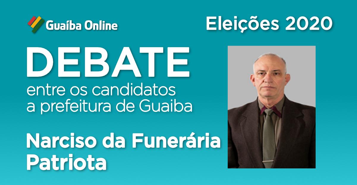 Assista às respostas de Narciso da Funerária no Debate do Guaíba Online com os candidatos a prefeitura de Guaíba