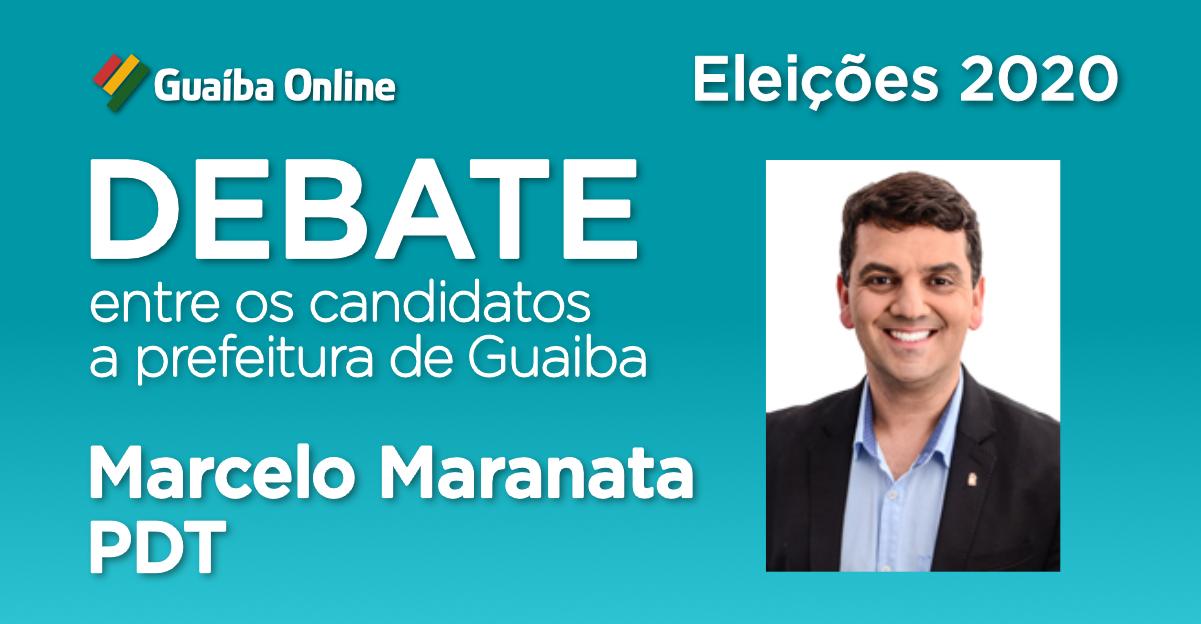 Assista às respostas de Marcelo Maranata no Debate do Guaíba Online com os candidatos a prefeitura de Guaíba