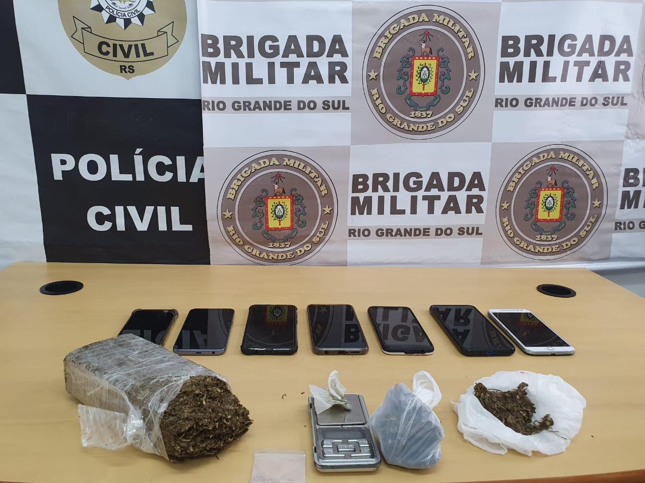 Brigada Militar e Polícia Civil deflagram Operação Hill em Guaíba