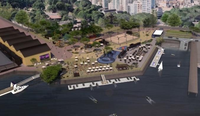 Governo do estado assina contrato de concessão de área junto ao Guaíba com a Embarcadero