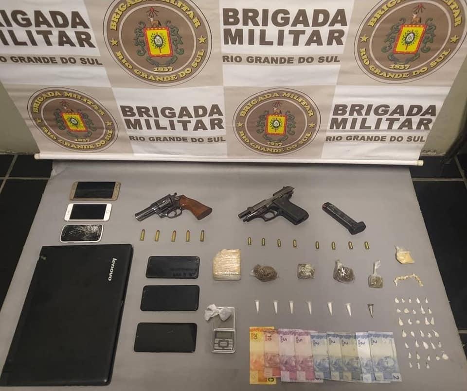 Em 24 horas, Polícia Militar apreende drogas, armas e realiza recaptura de foragido na região carbonífera