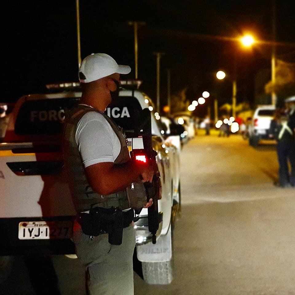 BM realiza operação integrada com Polícia Civil e agentes da Prefeitura na orla da Praia da Alegria, em Guaíba