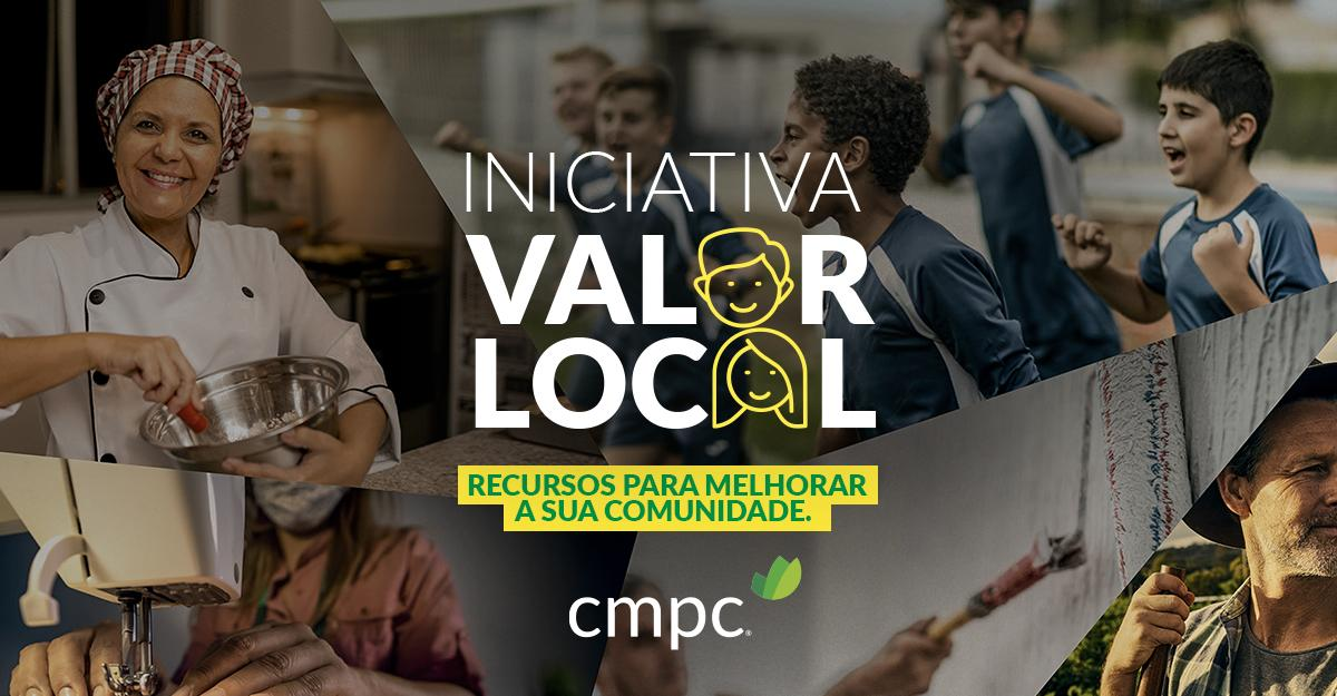 Tem uma ideia para desenvolver a sua região? Participe da Iniciativa Valor Local da CMPC