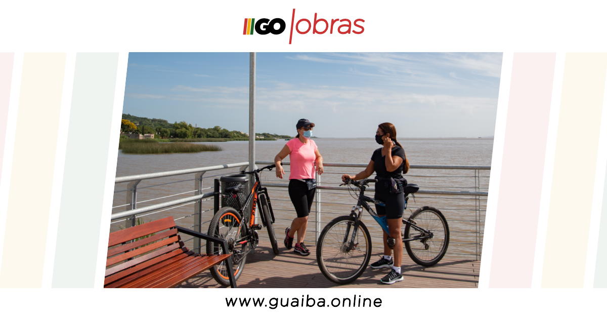 Obras de requalificação nas orlas da Alegria e Alvorada são entregues oficialmente para Guaíba; veja em 10 imagens