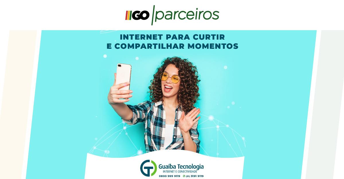 Fibra Óptica de 500mb por apenas R$ 179,90 por mês é na Guaíba Tecnologia; conheça já todos os planos