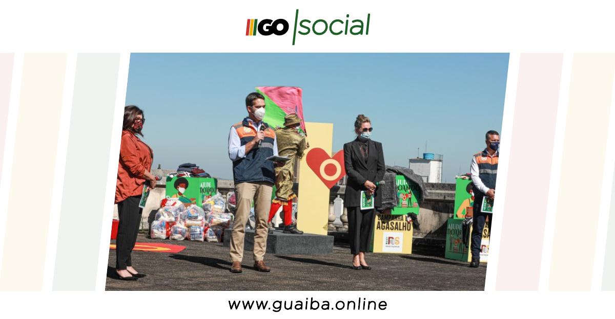 Campanha do Agasalho 2021 destaca importância da doação de alimentos