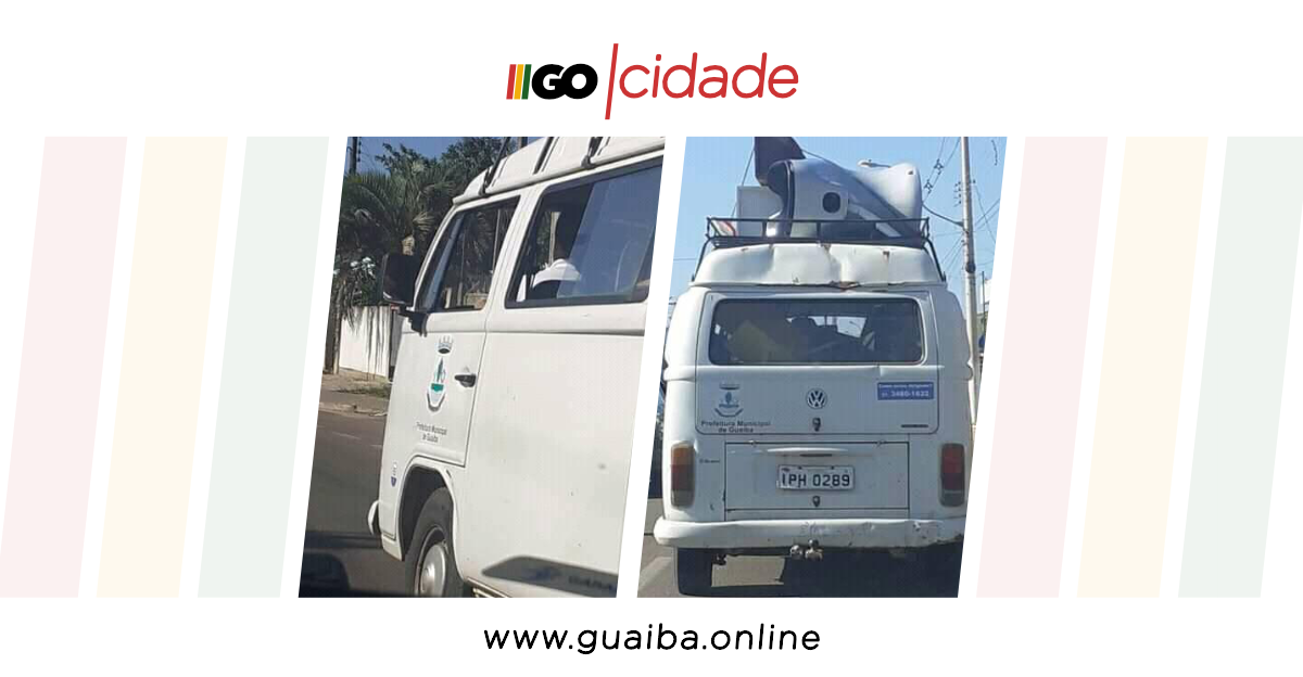 Kombi da prefeitura de Guaíba transporta itens de terceiros, motorista é afastado e sindicância é solicitada; entenda