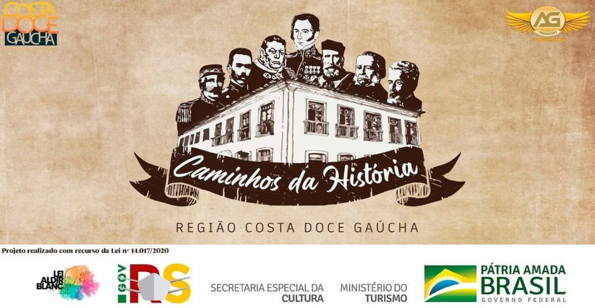 Com shows de grandes artistas, websérie Caminhos da História apresenta prédios históricos de oito cidades do RS