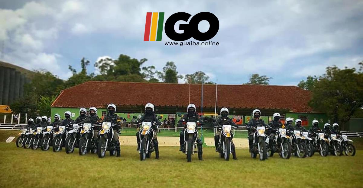 Policias Militares de Guaíba e Eldorado do Sul participam de Curso de Policiamento Tático em Motocicletas