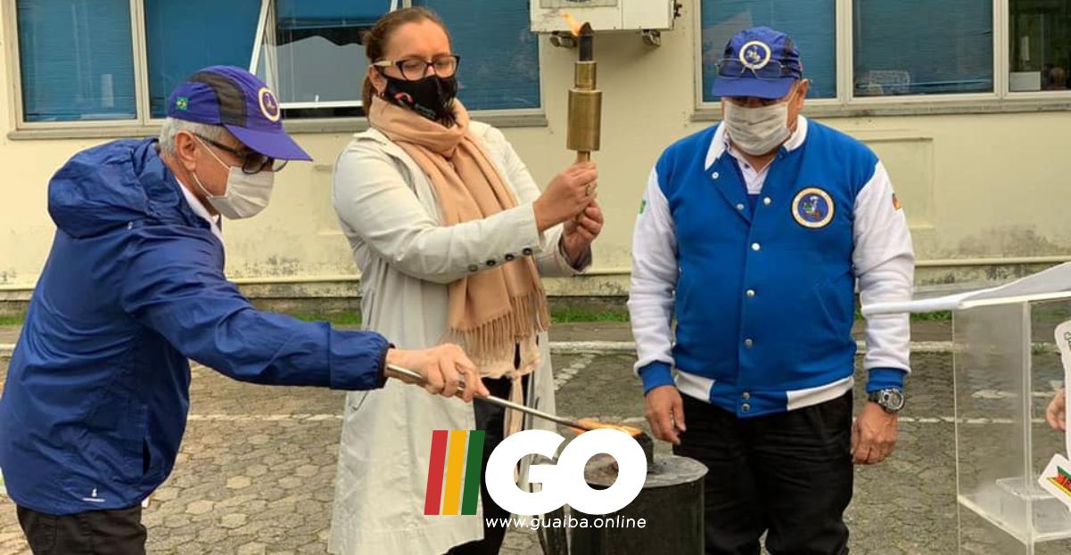 Guaíba recebe Fogo Simbólico da Pátria e dá início às comemorações alusivas à semana da Pátria
